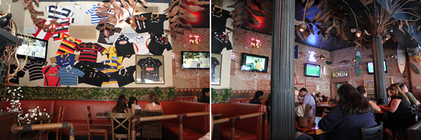 Inside Bare Back Grill Gaslamp Grill San Diego