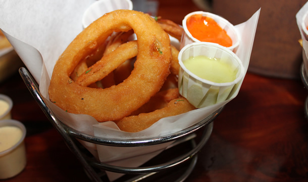 Bare Back Grill San Diego Onion Rings