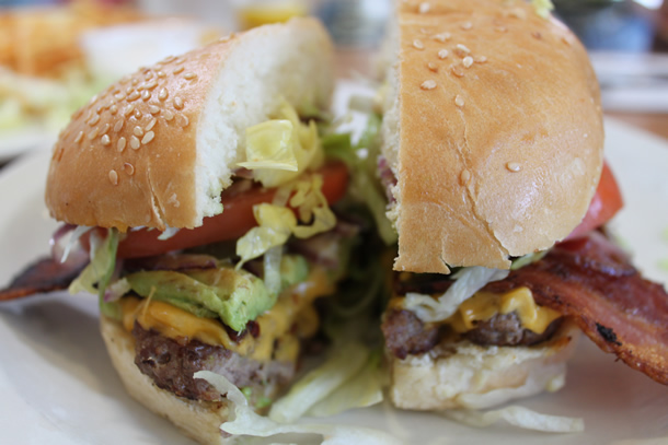 Beach Break Cafe Beach Break Burger Oceanside California