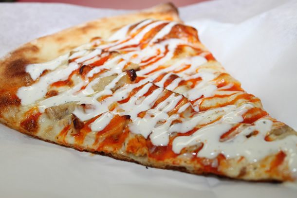 Bongiorno's Buffalo Garlic Chicken Pizza Solana Beach California