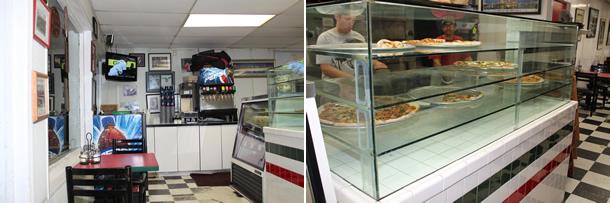 Inside Bongiorno's New York Pizzeria Solana Beach California