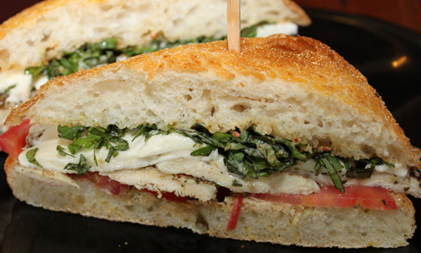 Deli-licious Chicken Avocado Caprese Sandwich