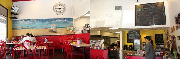 Inside Deli-licious Huntington Beach California