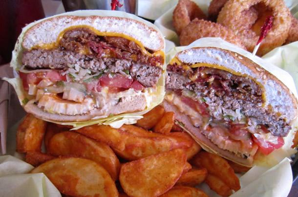 Hodad's Single Bacon Cheeseburger