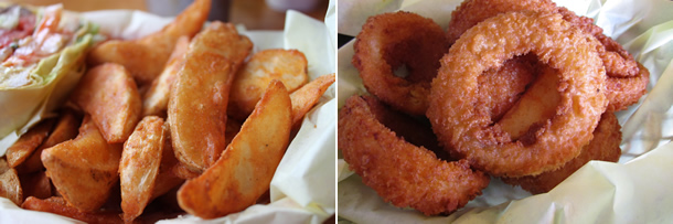 Hodad's Downtown San Diego Frings Fries and Onion Rings