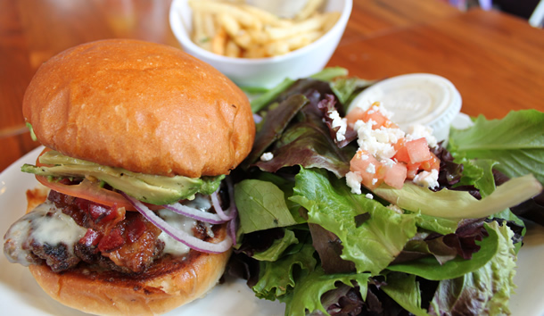 O'Brothers Burger, Fries and Salad San Diego California