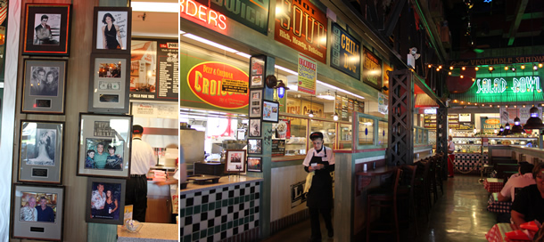Inside Portillo's Buena Park California