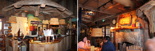 Inside The Yellow Deli Vista California