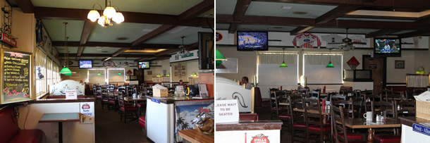 Inside Wings 'N Things Huntington Beach California