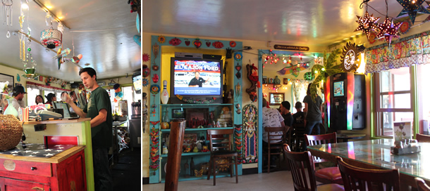 Inside Besta Wan Pizza House Cardiff by the Sea California
