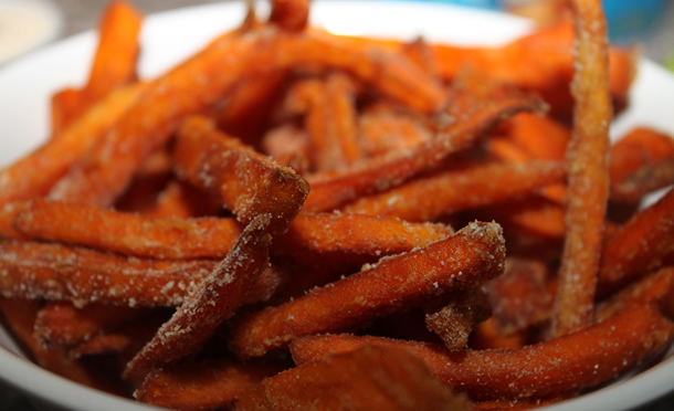 Tioli's Crazee Burger Sweet Potato Fries