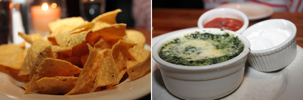 Houston's Chicago Spinach Dip