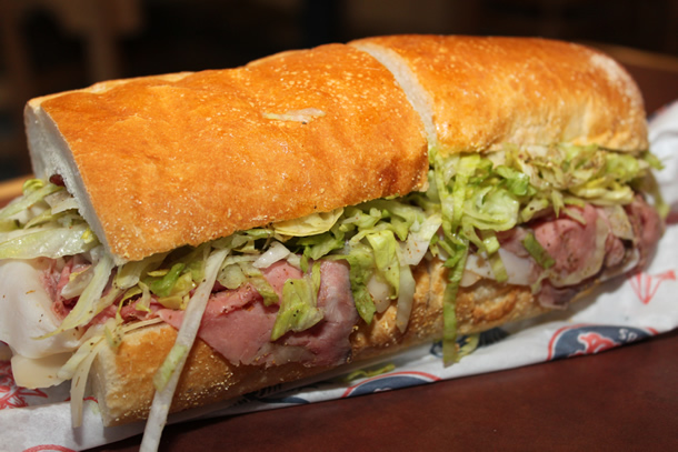 Jersey Mike's Subs Club Supreme Sandwich