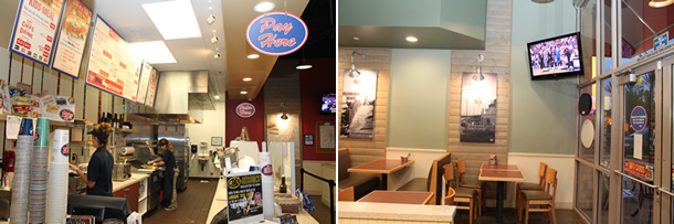Inside Jersey Mike's Subs San Marcos California