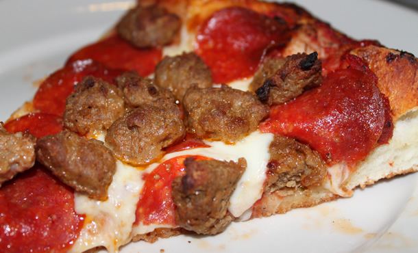 Oggi's Pizza and Brewing Co. Pepperoni and Sausage
