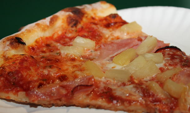 Pizza Pie Ham and Pineapple Pizza San Marcos California