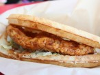 Bruxie Buttermilk Fried Chicken and Waffle Sandwich
