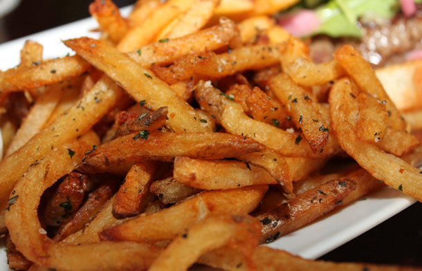 Haven Gastropub French Fries Orange California
