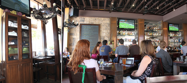 Haven Gastropub Inside Seating