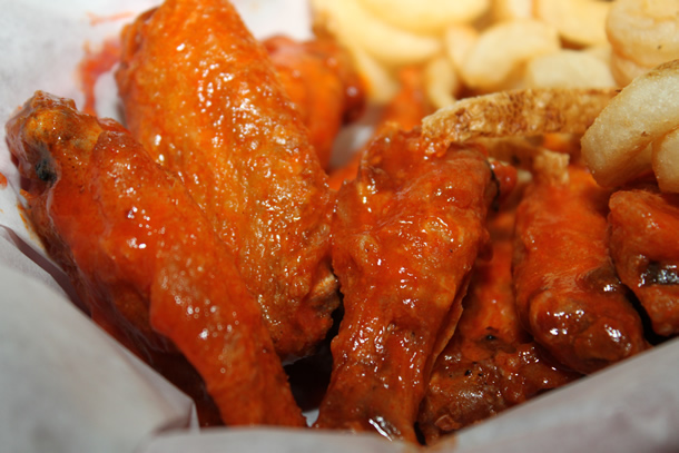 Baked Buffalo Wings