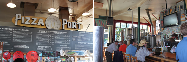 Pizza Port Bar Carlsbad California