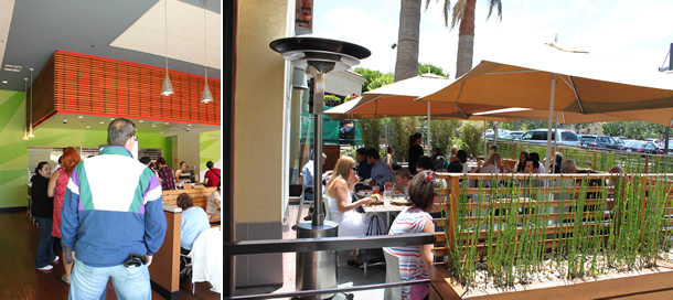 The Veggie Grill Patio Irvine California