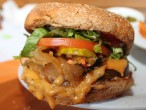 The Veggie Grill VG-Cheeseburger