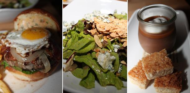 Whisknladle WNL Burger, Salad, Dessert