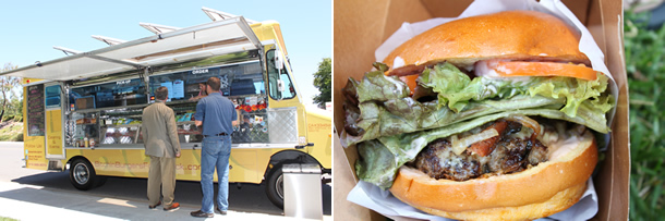 Bitchin Burgers Food Truck San Diego California