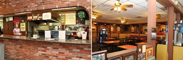 Graziano's Pizzeria Racho Bernardo California Inside