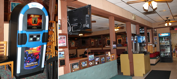 Graziano's Pizzeria Racho Bernardo California Juke Box