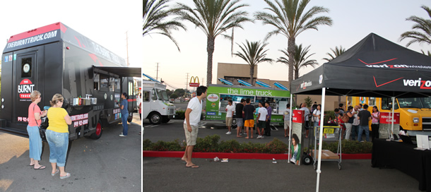 The Burnt Truck Food Truck Thursday Event in Orange California