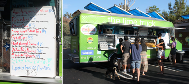 The Lime Truck Food Truck Menu Orange County California
