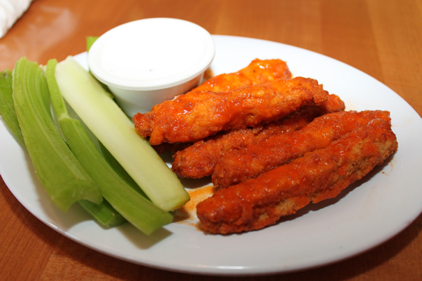 The Veggie Grill Irvine California Vegan Buffalo Wings