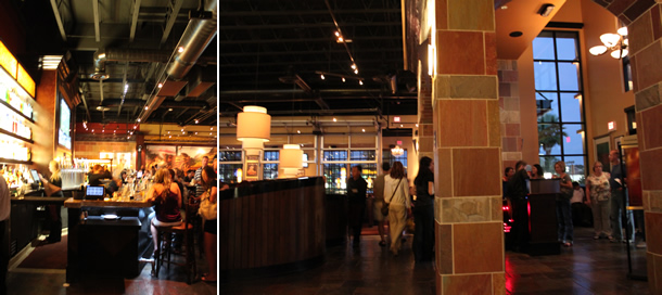 BJ's Restaurant & Brewhouse Carlsbad California Inside Bar