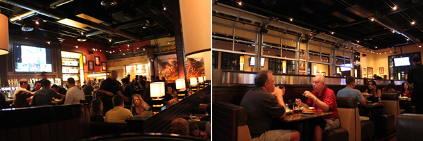 BJ's Restaurant & Brewhouse Carlsbad California Inside Seating