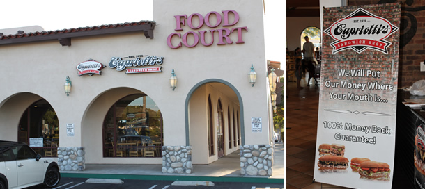 Capriotti's Sandwich Shop San Marcos California