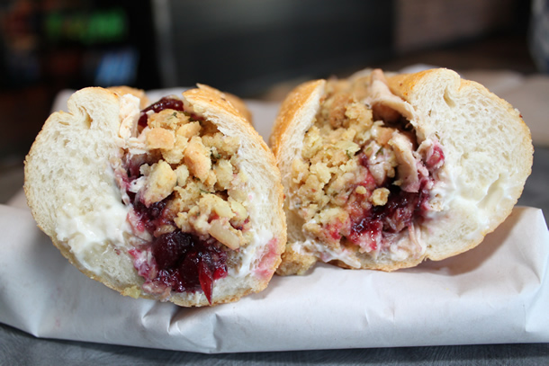 Capriotti's Sandwich Shop San Marcos California The Bobbie Sandwich