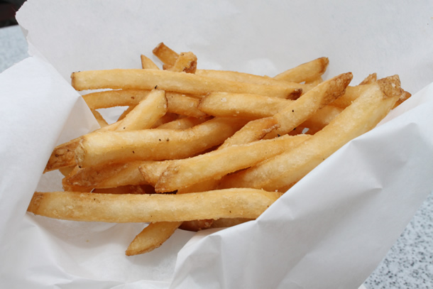 George's at the Cove La Jolla California French Fries