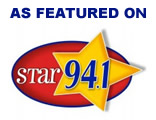 STAR 94.1 FM - AJ in the Morning and Food Smackdown