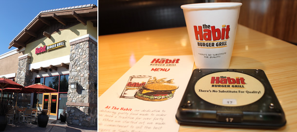 The Habit Burger Grill Habit Lake Forest California Outside