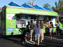 The Lime Truck in Orange County California