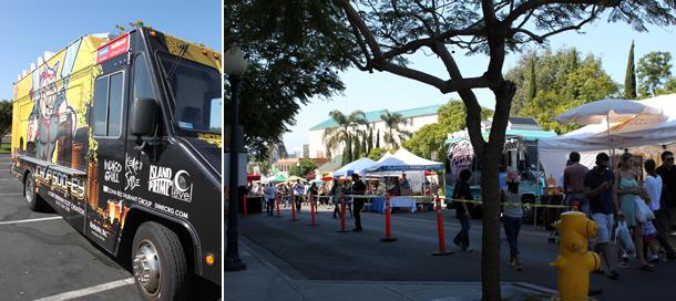 Chop Soo-ey Food Truck Little Italy Mercato San Diego California