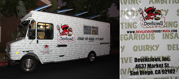 Devilicious Food Truck San Diego California