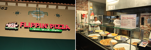 Flippin' Pizza La Costa Carlsbad California
