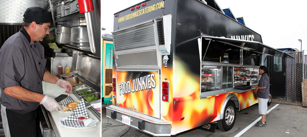Food Junkies Food Truck San Diego California