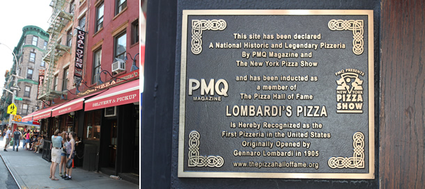 Lombardi's Pizza New York NY