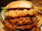 Mama Kat's San Marcos California Chubby Chicken Burger