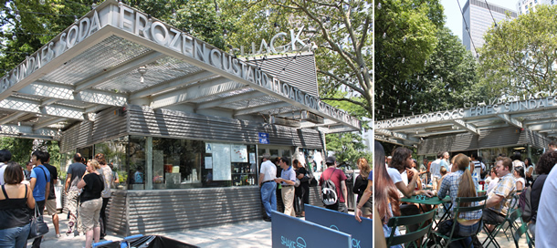 Shake Shack Madison Square Park NYC New York