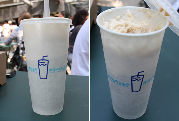 Shake Shack Root Beer Float Madison Square Park NYC New York
